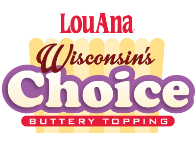 LouAna Wisconsin's Choice Buttery Topping for Popping Products